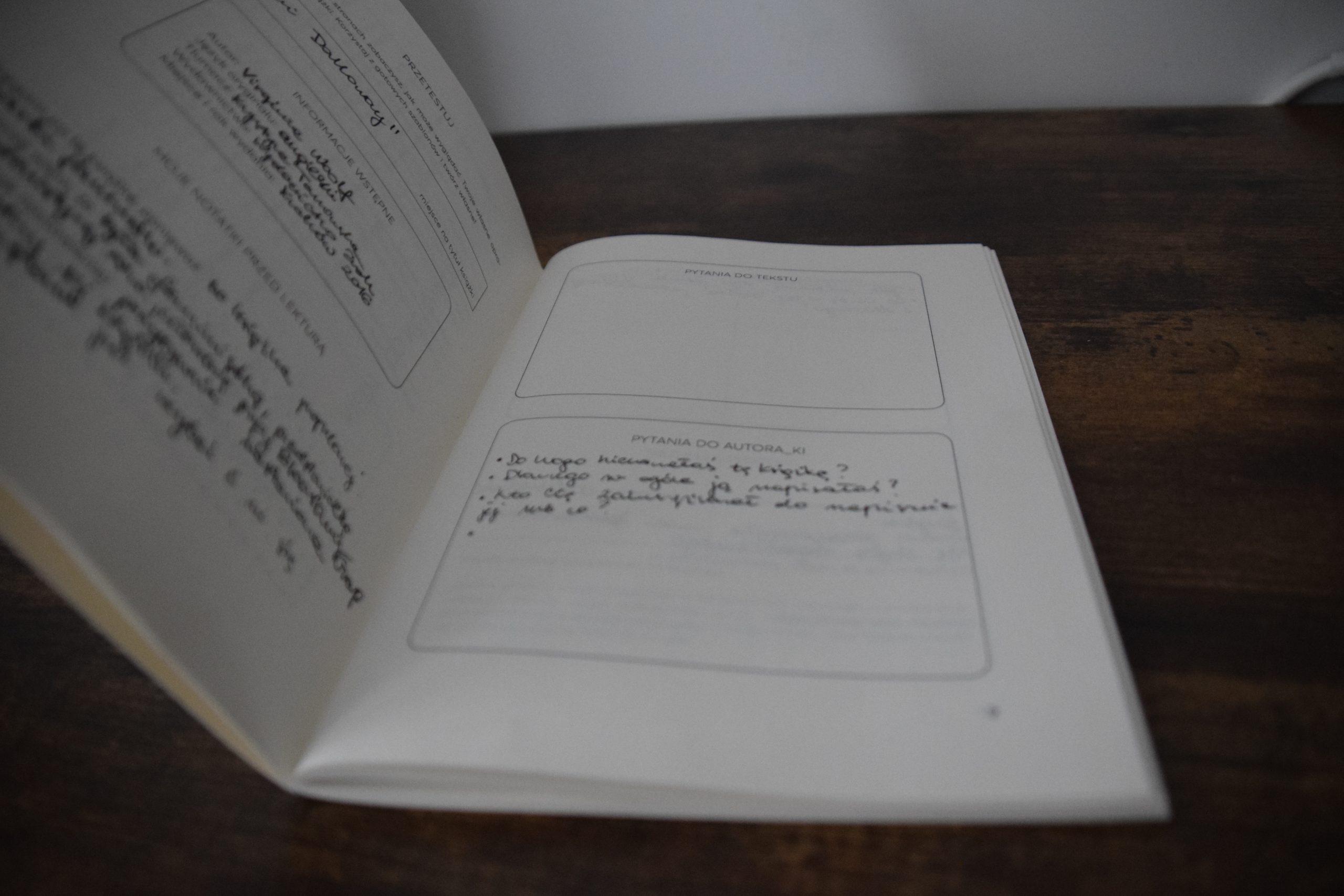 Samanta - notatki z prozy